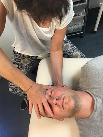 Claire Valette séance de somatopathie